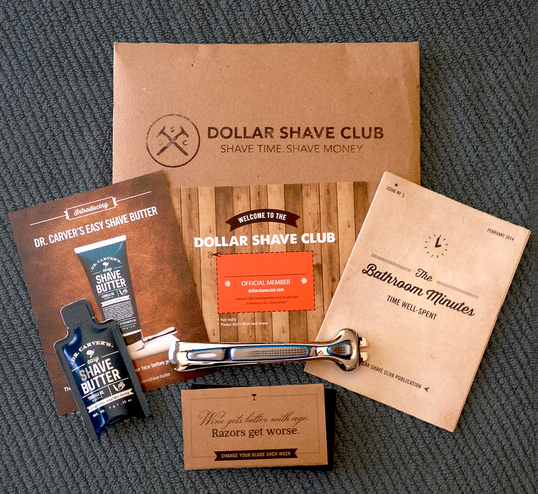 How did dollar shave club start